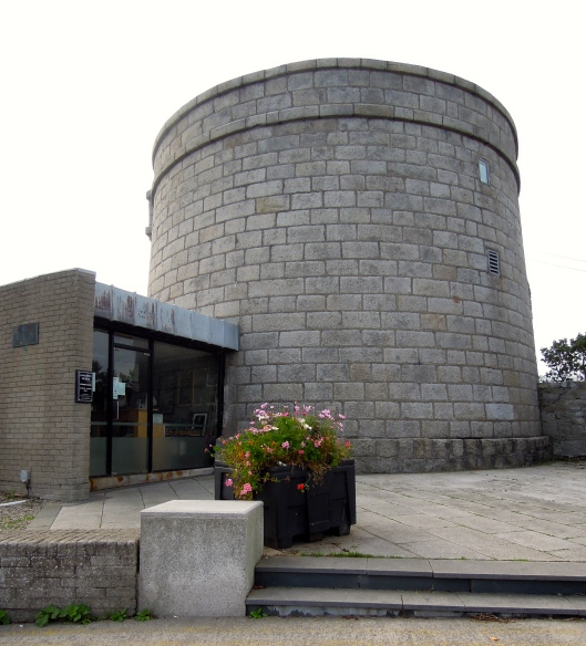James Joyce's Martello tower. A veritable citadel of literary greatness.