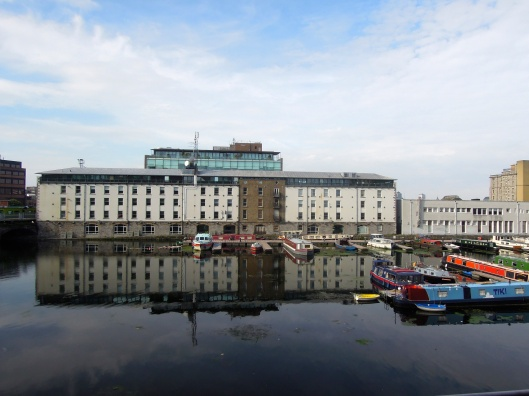 My morning vista down by the Grand Canal Dock. Right next door to Google don't ya know!