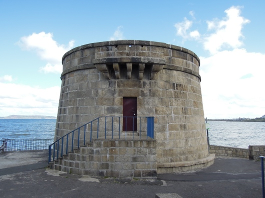 Seapoint's Martello tower, if only the French had arrived.