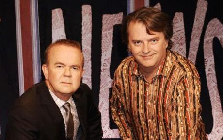 Hislop and Merton, the funny guys.